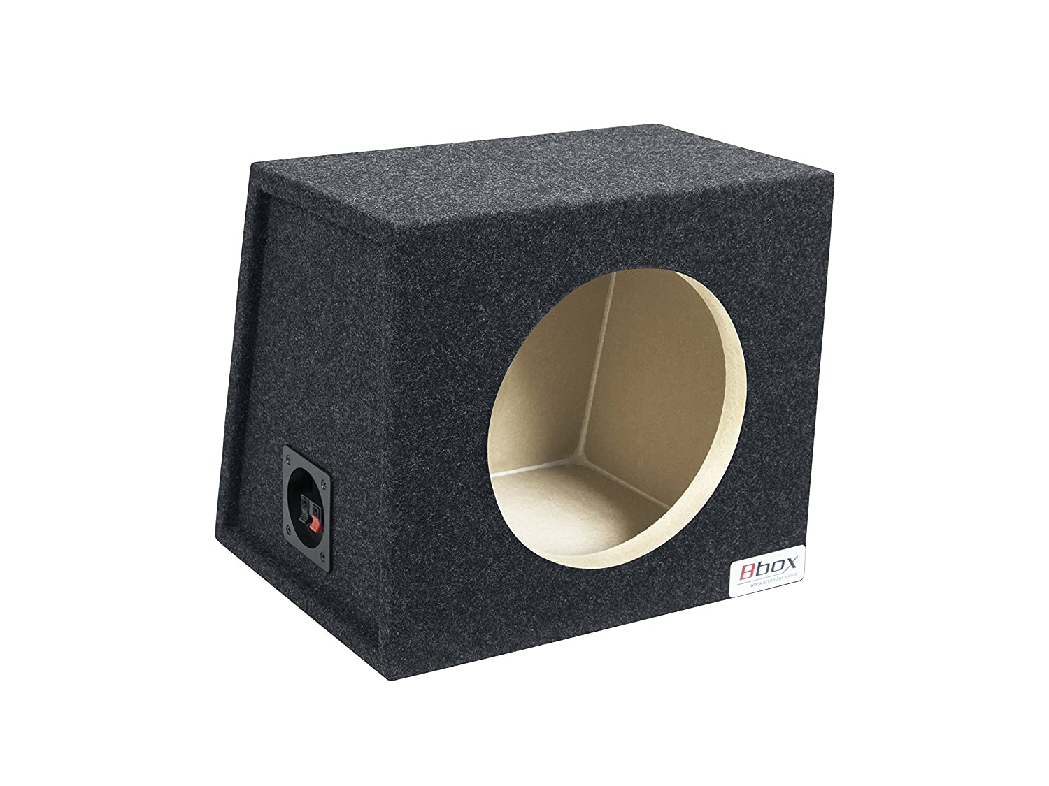 Atrend Bbox Single 15 Vented Carpeted Subwoofer Enclosure Amazon Rockford Fosgate Punch 45 Specs Electronics