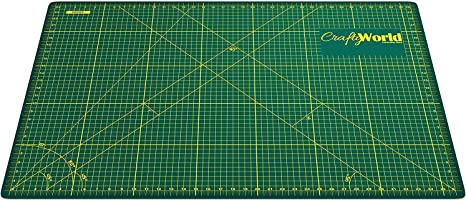Amazon Com Cutting Mat For Sewing Crafts 24x36inches Sturdy Rotary Cutting Mat W Self Healing Non Slip Surface Perfect Craft Fabric Cutting Board For Quilting Sewing Large Double