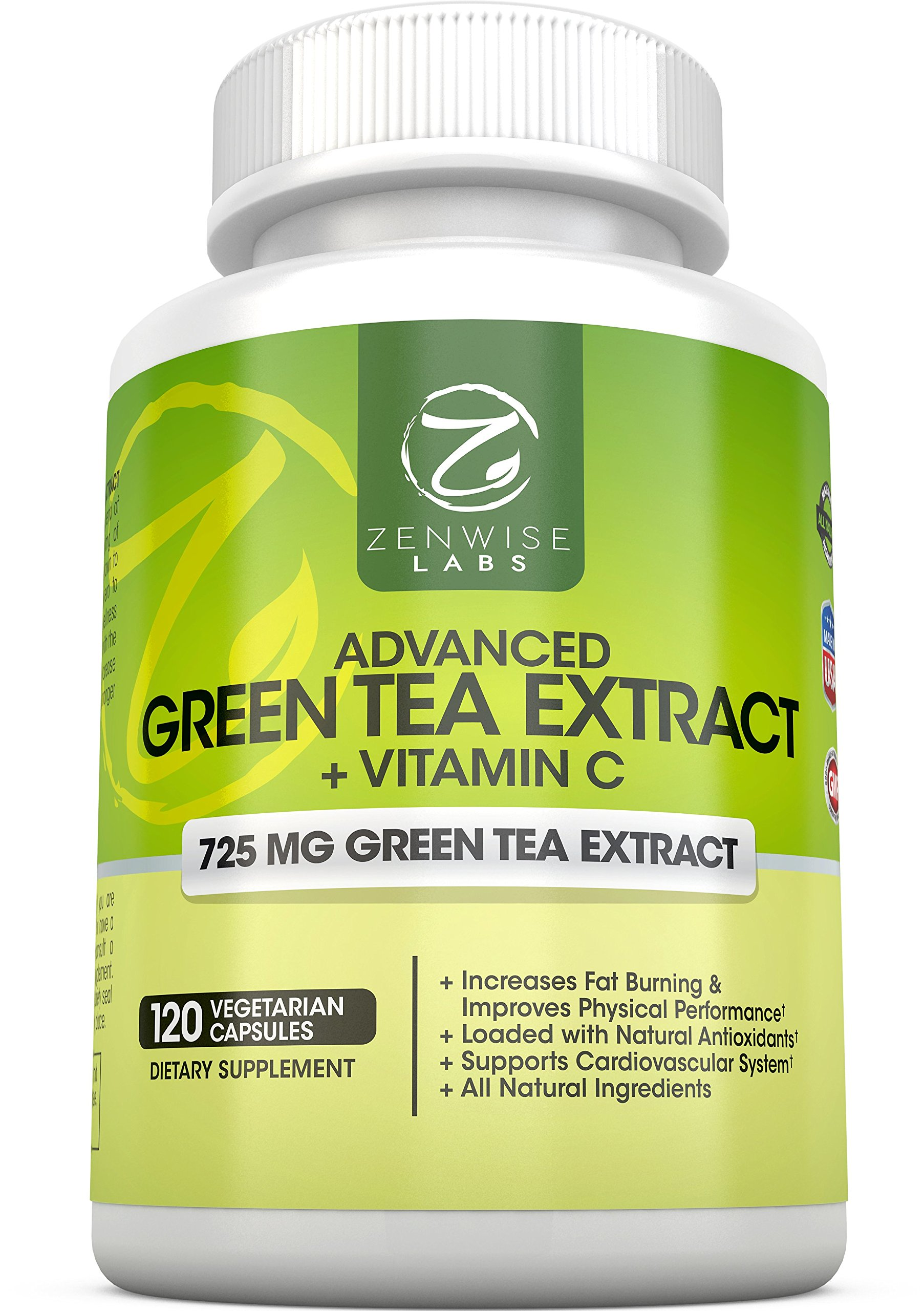 Green Tea Extract Supplement With Egcg For Weight Loss - Decaffeinated Vegeta.. 10