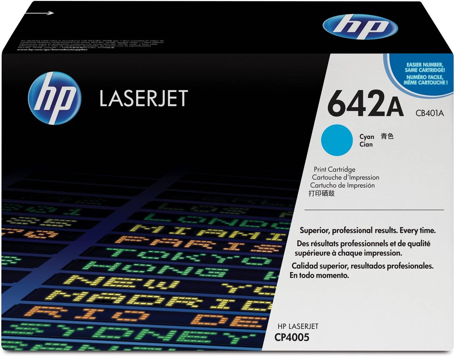 HP 642A | CB401A | Toner Cartridge | Cyan