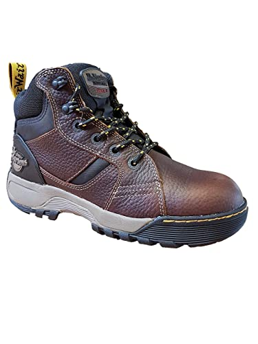 0dfbfd5bb36 Dr Martens DM Docs Grapple ST Brown S1P Steel Toe Cap Leather Work Safety  Boots PPE