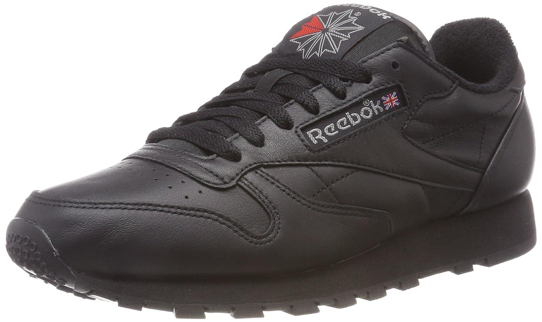 Reebok Classic Leather Archive, Zapatillas de Running para Hombre 40.5 EU Negro (Blackcarbonred 0)