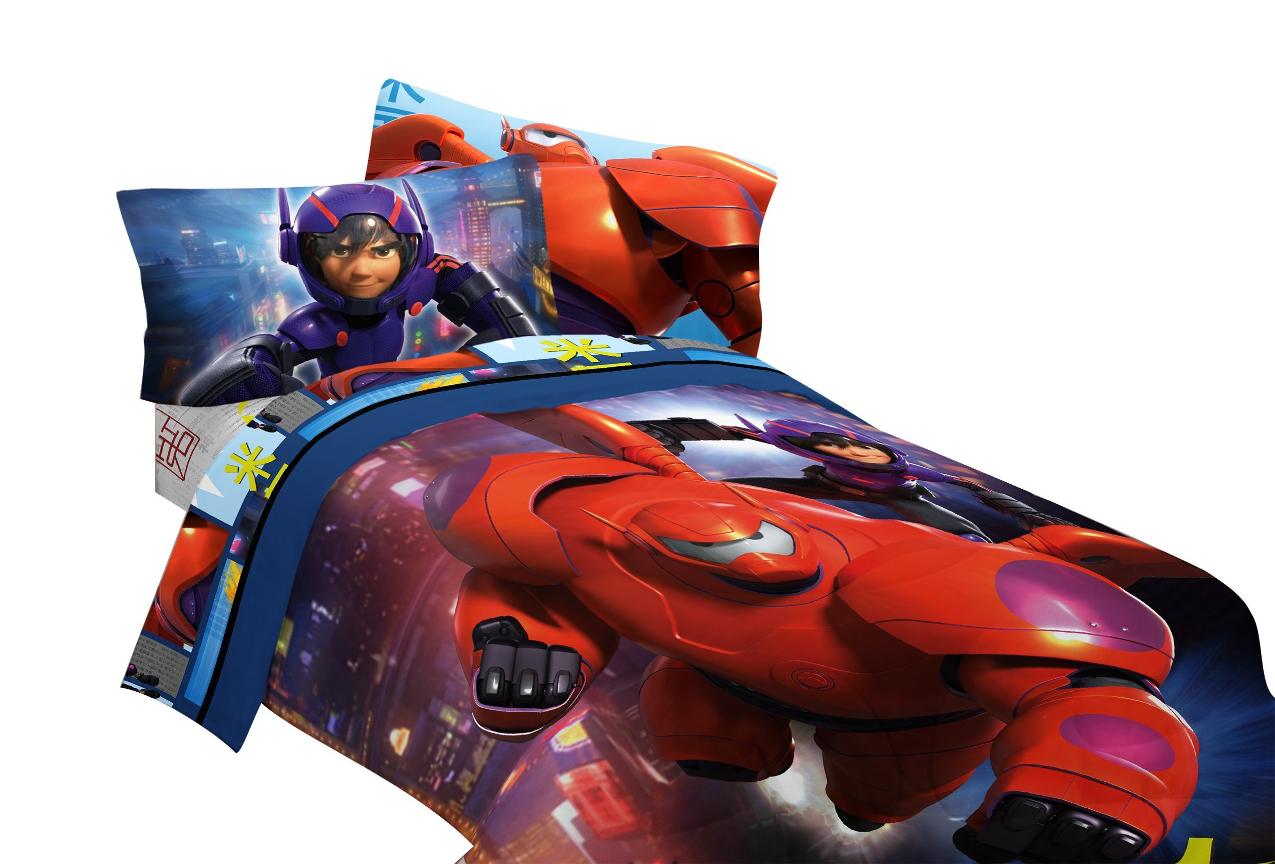 Disney Big Hero 6 72'' x 86'' Microfiber Comforter, Twin/Full