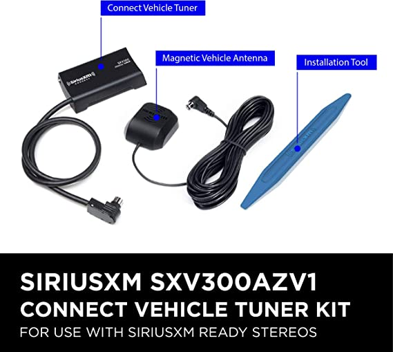 SXV300AZV1 Connect Vehicle Tuner Kit for Satellite Radio with Free 3 Months Satellite and Streaming and Installation Tool