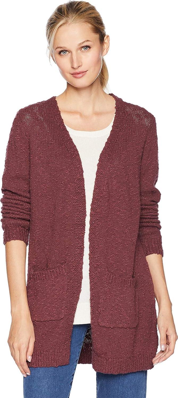 Mahogany Tribal Womens Long Sleeve Sweater Cardigan