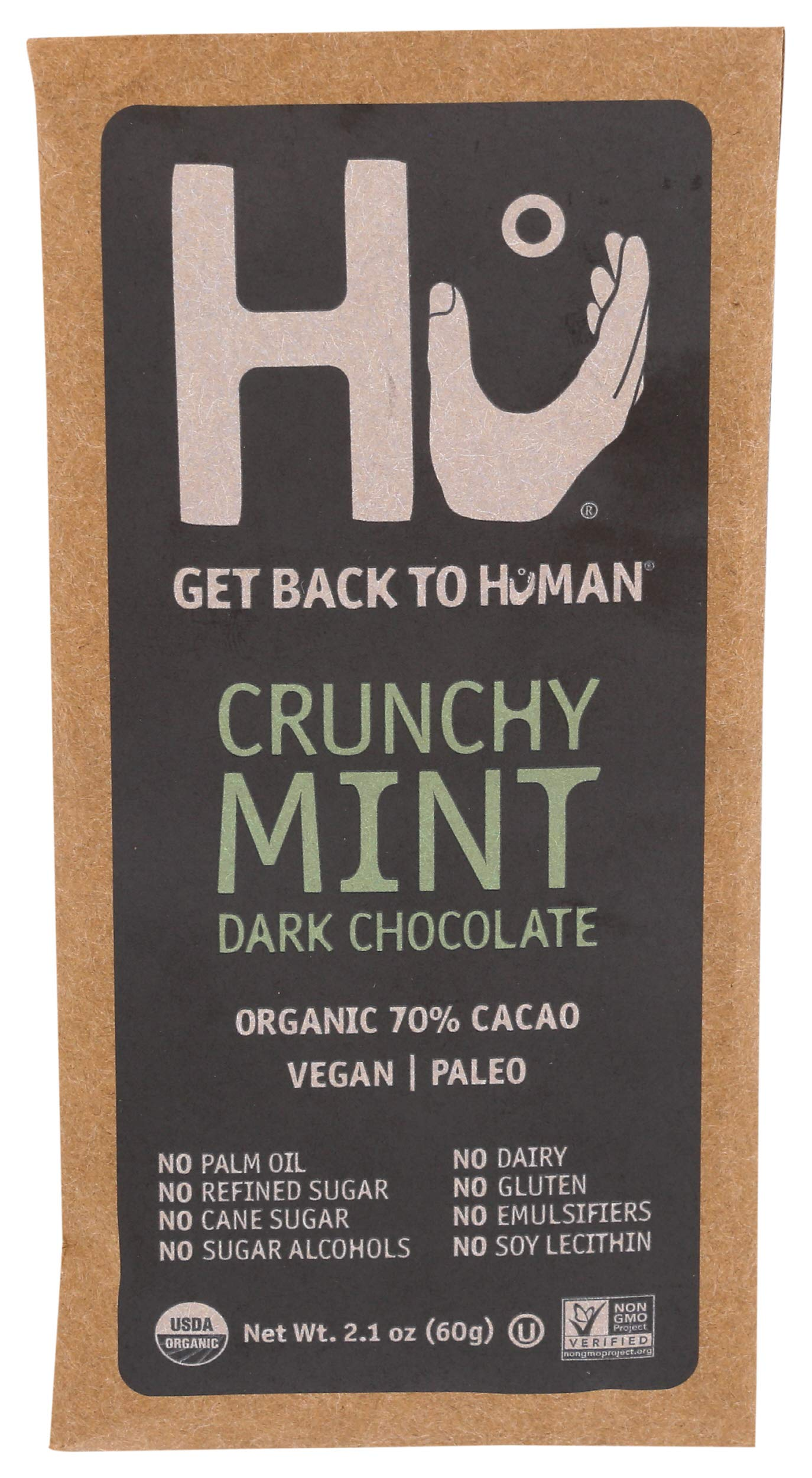 HU KITCHEN Mint Chocolate Bar, 2.1 oz