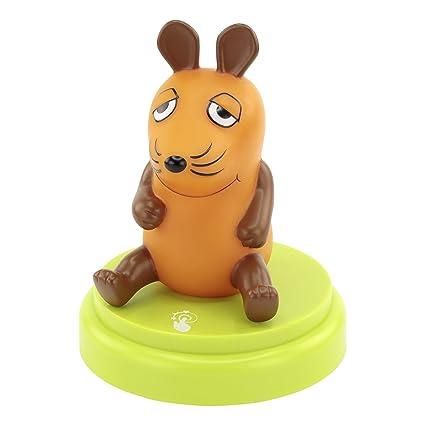 ANSMANN LED Nachtlicht Die Maus - Süße Einschlafhilfe mit Sensor Touch - Kinderlampe ideal als Nachttischlampe Babylicht Kind