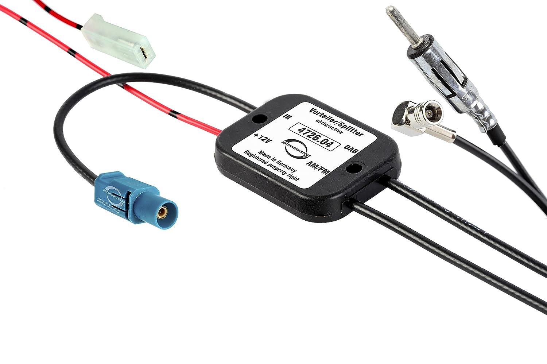 Antennentechnik Bad Blankenburg 4726.04 Aktive Frequenzweiche/Verteiler fü r Passive Antenne (FM/DAB) ABB Bad Blankenburg GmbH