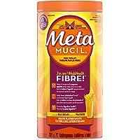Metamucil 3 in 1 MultiHealth Fibre! Fiber Supplement Powder, Orange, 861 g (Packaging may vary)