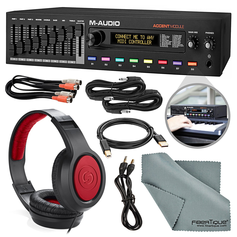 Galleon - M Audio Accent Stage Piano Module With USB MIDI