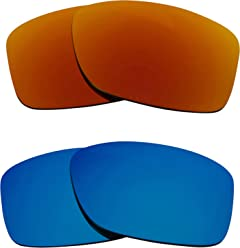 6f0c0cc1b45 JUPITER CARBON Replacement Lenses Polarized Blue   Red by SEEK fits OAKLEY
