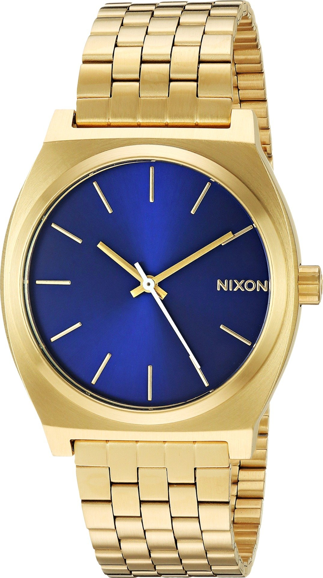 Nixon Unisex Time Teller All Gold/Blue Sunray One Size
