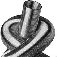 Tubo flexible de aluminio de 2 capas, longitud