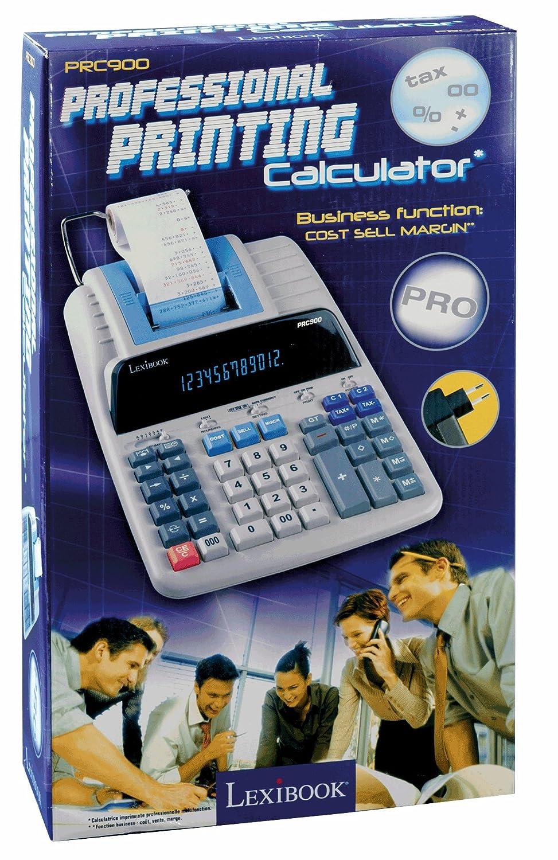 LEXIBOOK- Calculadora Impresora Profesional + Adaptador (PRC900 ...