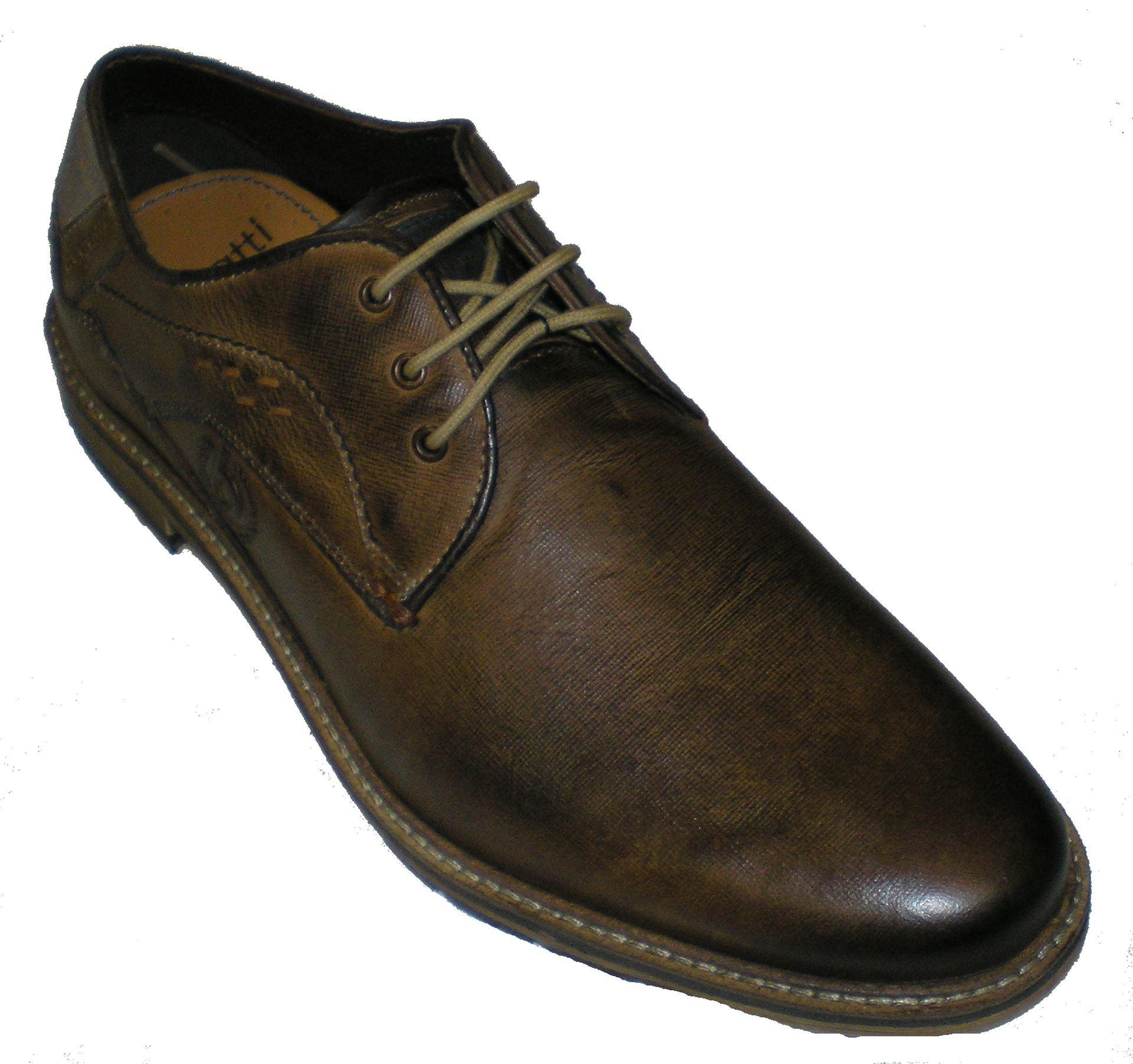 Bugatti Unisex Lace up Shoes Brown Size 43 M EU
