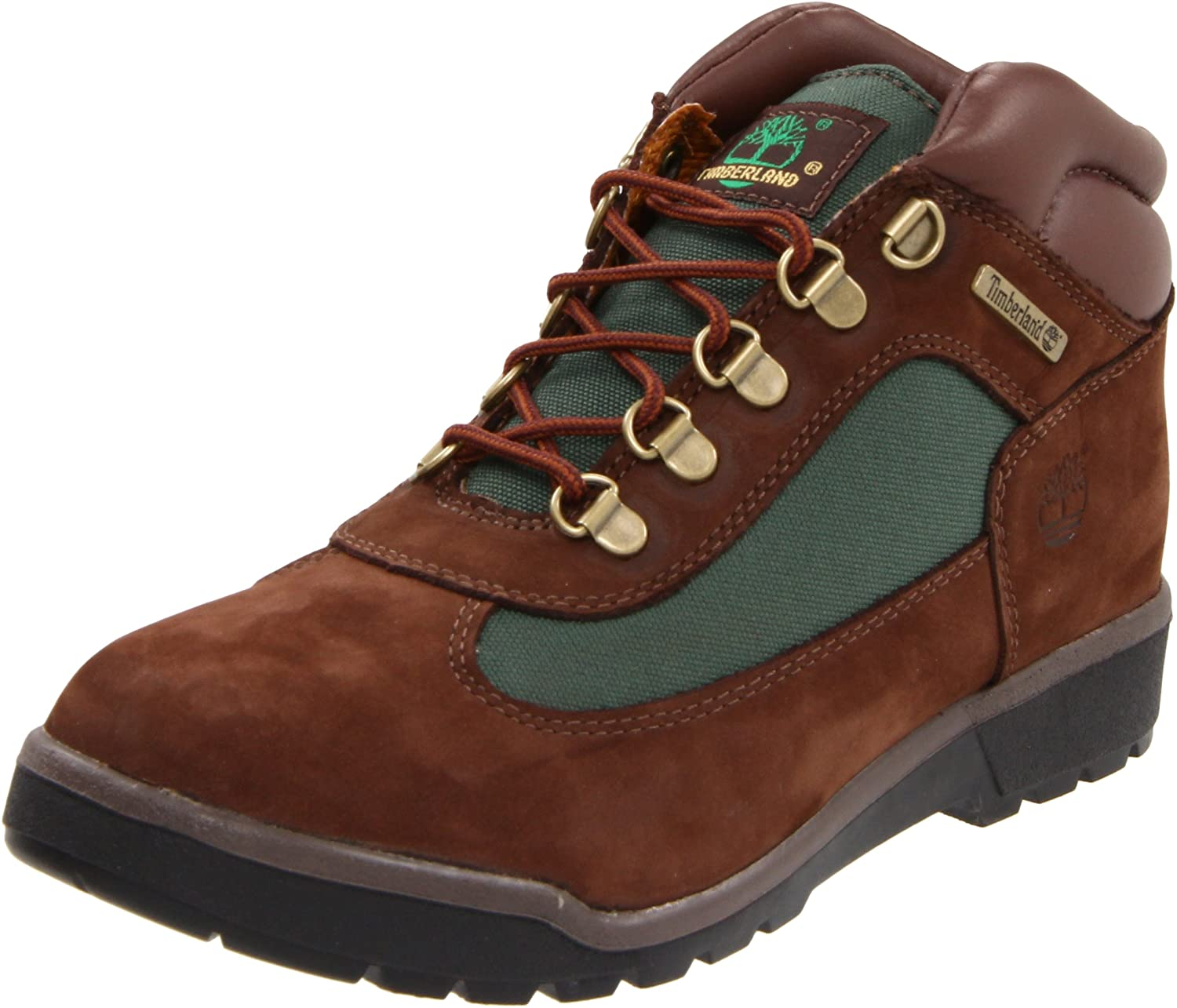 Timberland ユニセックスキッズ B002U39SGW 12.5 M US Little Kid|Brown/Olive/Brown Brown/Olive/Brown 12.5 M US Little Kid
