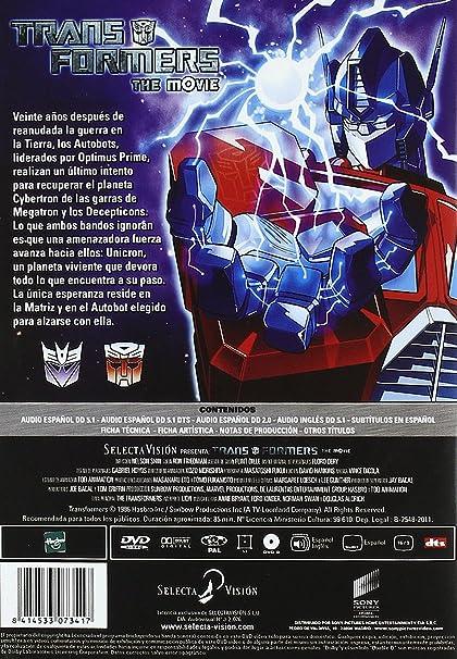 Amazon.com: Transformers (Import Movie) (European Format ...