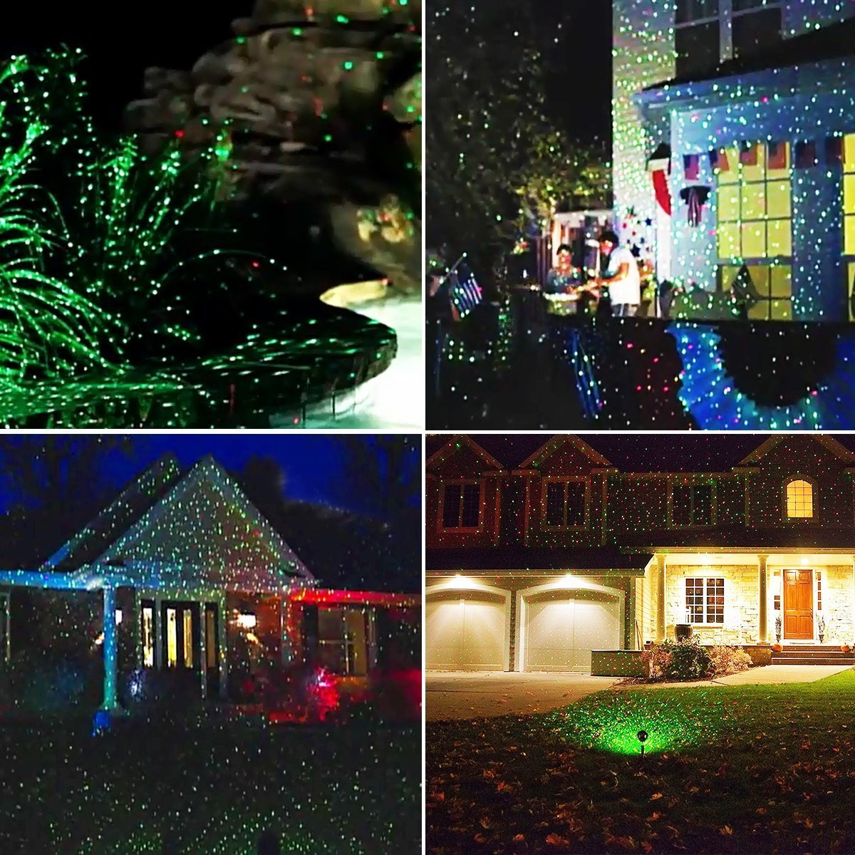 Amazon starry sky outdoor laser lights 7w red green 2 in 1 amazon starry sky outdoor laser lights 7w red green 2 in 1 dynamic lighting star projector laser spotlight light waterproof for home garden mozeypictures Image collections