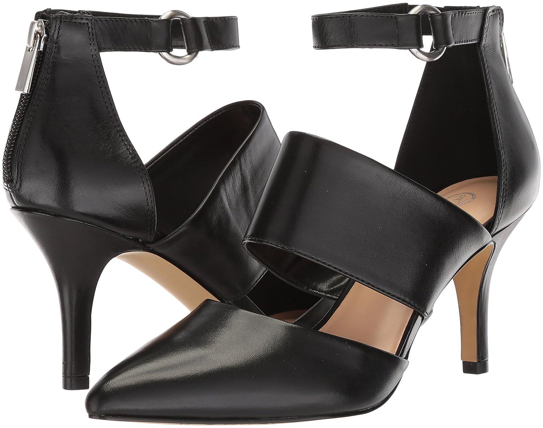 Bella Vita Women's Diana Pump B07822VTPK 6.5 2W US|Black Leather