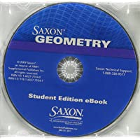 Saxon Geometry: Student Edition eBook CD Replacement Kit 2009