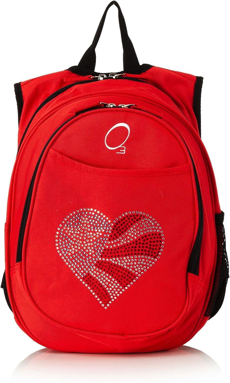 03 Sac à dos compact enfant maternelle avec pochette refroidisseur. Moto bleue Flag Heart