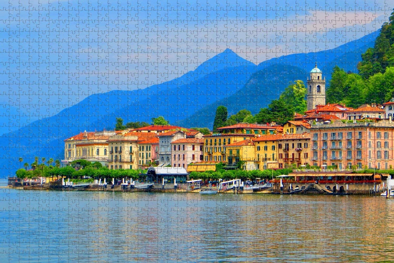 Lake Como Jigsaw Puzzle 1000 Piece Puzzles Jigsaw Puzzles ...