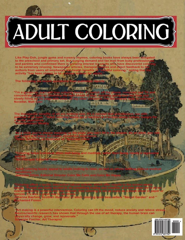 Amazon.com: Enchanted Bonsai Designs: Grown Up Coloring Meditation ...