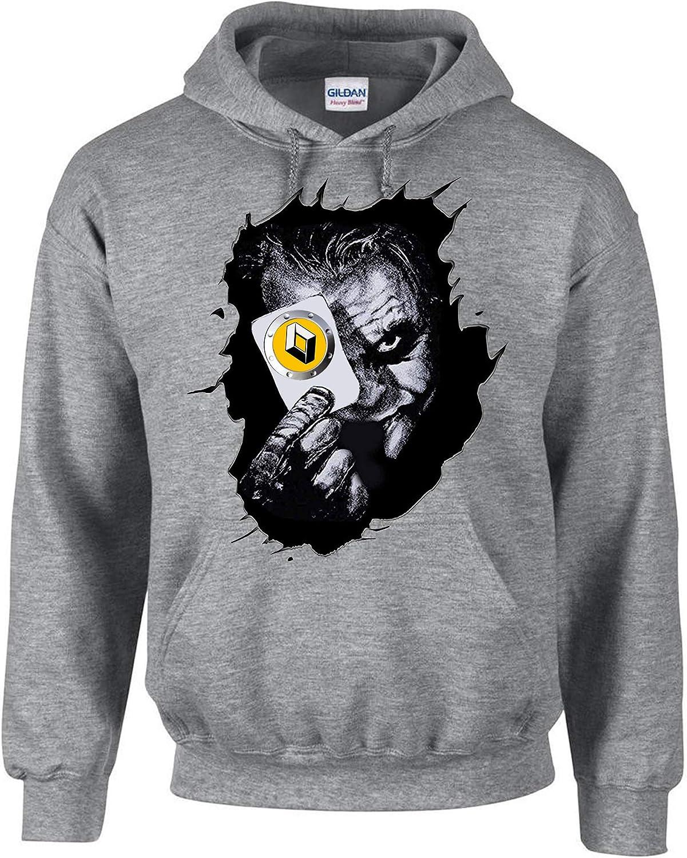 3411 Renault Joker Auto Car Gris Sweat-Shirt /à Capuche