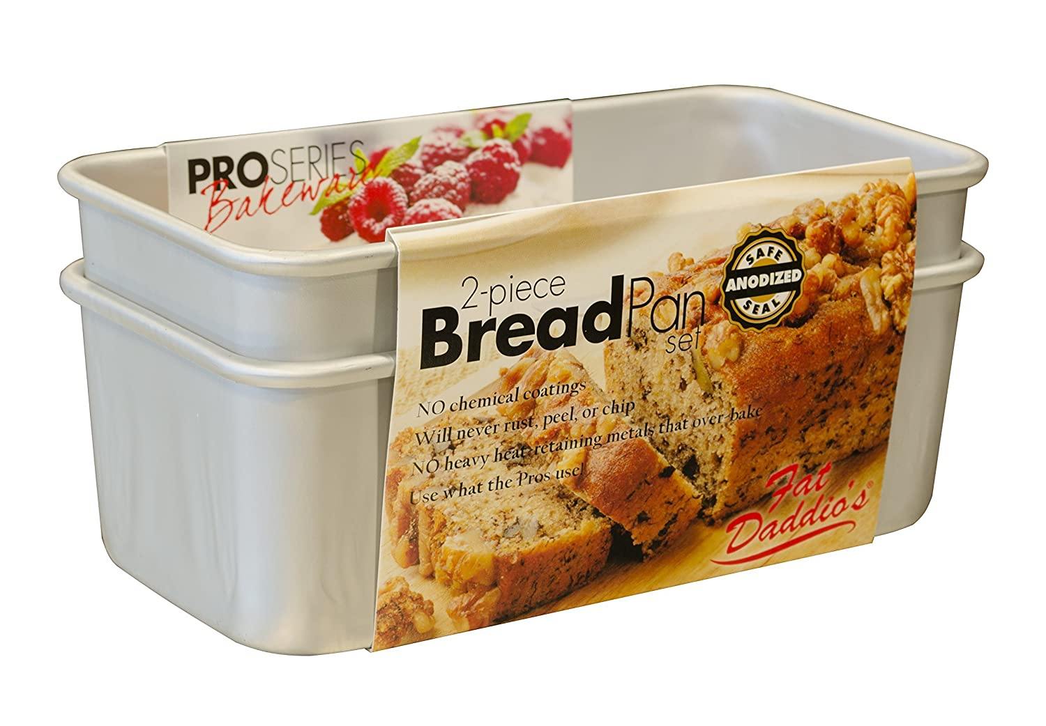 Fat Daddio'S 2-Piece Bread Pan Set Fat Daddios BP-SET