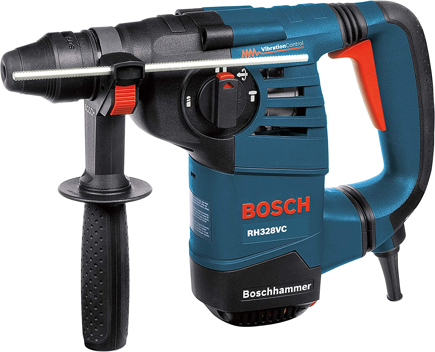 7. Bosch RH328VC 1-1/8-Inch SDS Rotary Hammer with Vibration Control