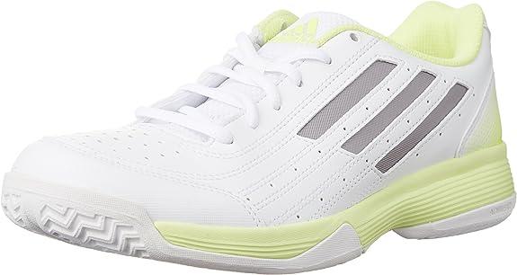 adidas Sonic Attack W, Zapatillas para Mujer, Blanco/Plata/Amarillo, 36 2/3 EU: Amazon.es: Zapatos y complementos