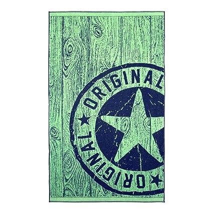 Barceló Hogar - Toalla Playa Original Terciopelo 100x170 cm - 08 Pistacho, 100X170 cm