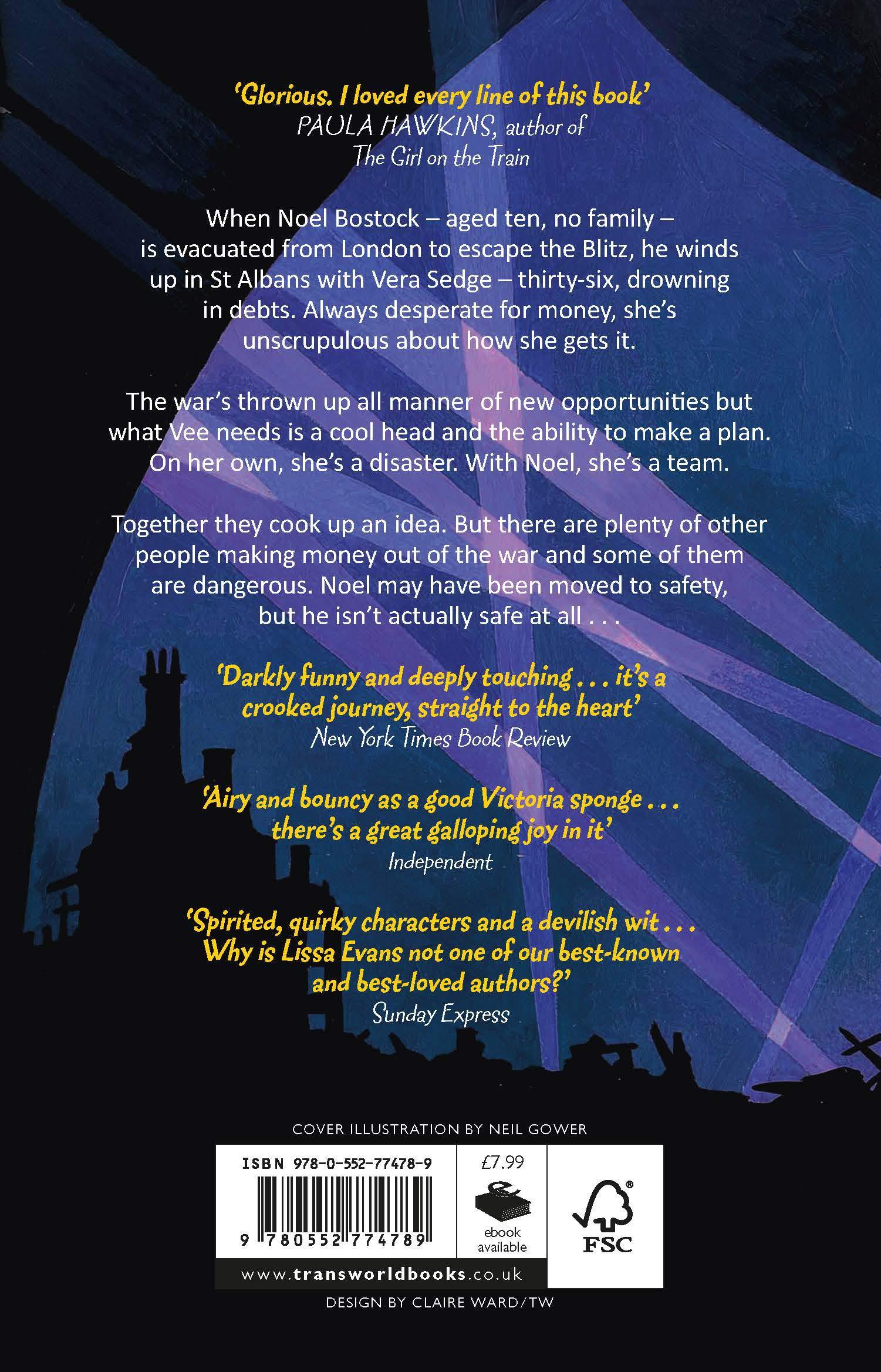 Crooked Heart: 'My book of the year' Jojo Moyes: Amazon.co.uk: Lissa Evans:  9780552774789: Books