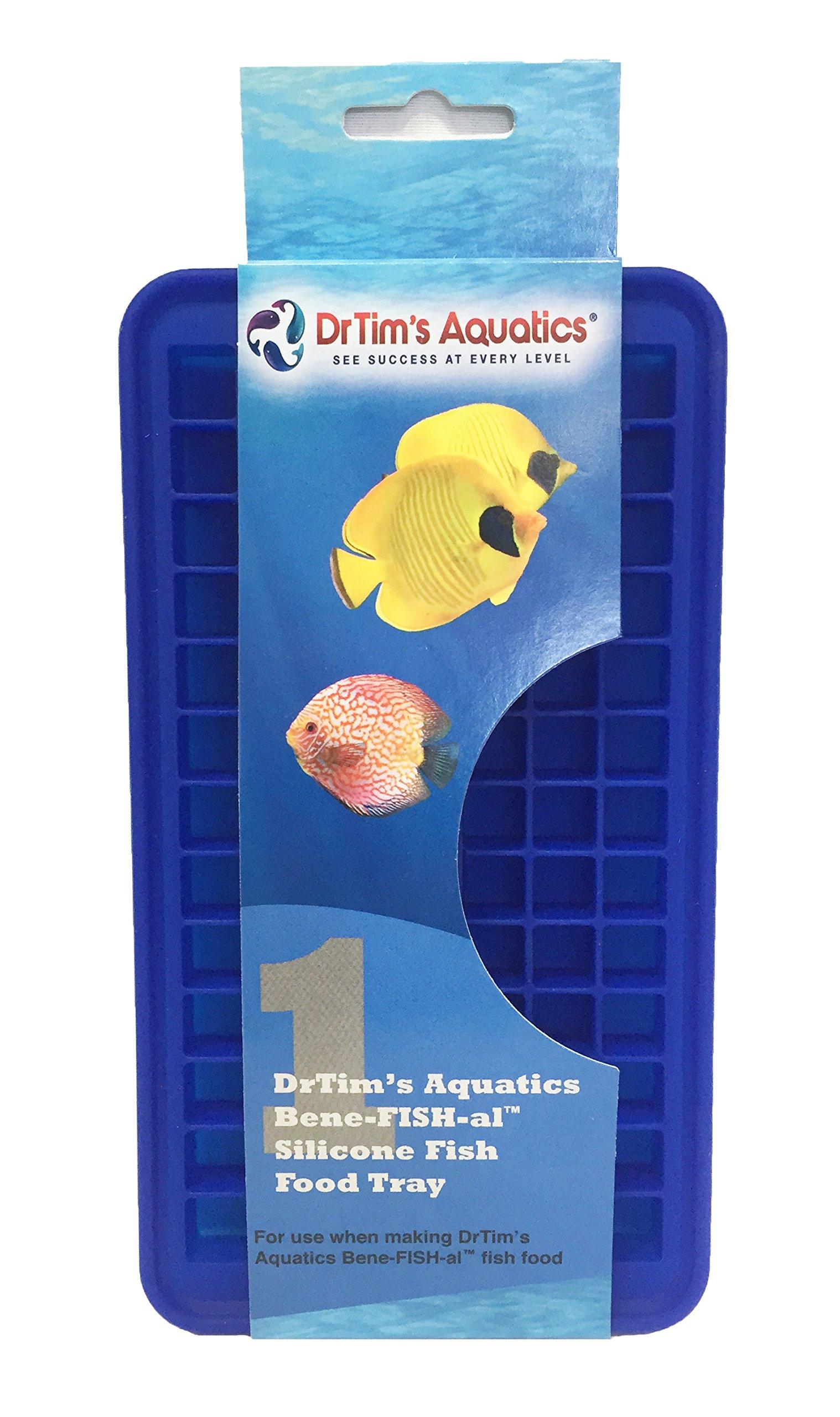 DrTim's Aquatics 022217 Bene-Fish-Al Fish Food 90 Cube Fish Food Tray, 90 Cube Tray, 1Piece