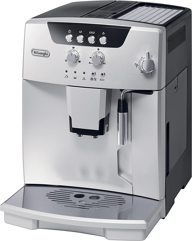 De'Longhi ESAM04110S Magnifica Fully Automatic Espresso Machine with Manual Cappuccino System Silver