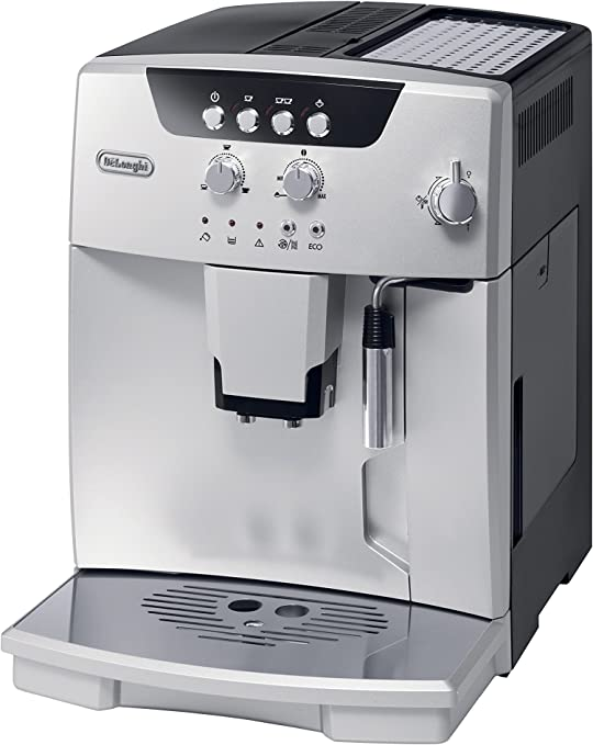 DeLonghi ESAM04110S Magnifica Fully Automatic Espresso Machine with Manual Cappuccino System, Silver