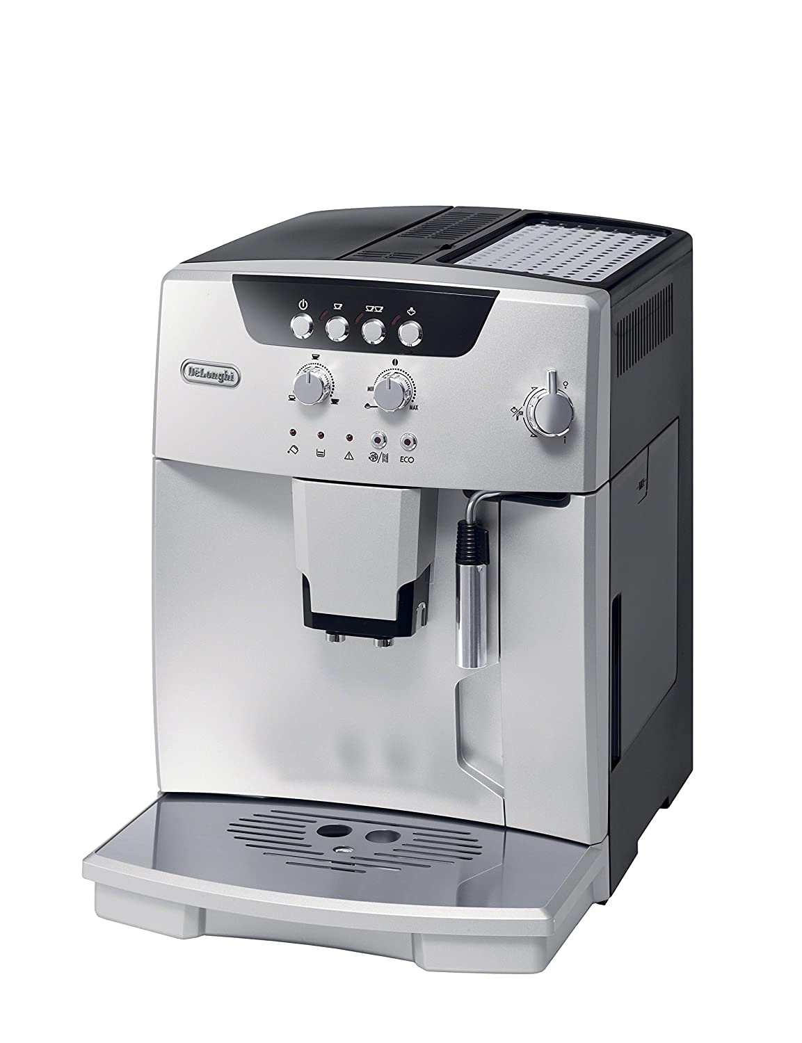 De'Longhi ESAM04110S Magnifica Fully Automatic Espresso Machine with Manual Cappuccino System Silver