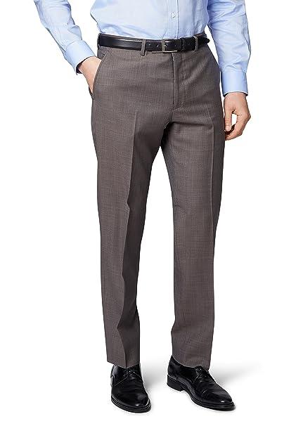 Ermenegildo Zegna Cloth - Pantaloni da abito - Uomo beige Beige  Amazon.it   Abbigliamento 8feb80fd0b3
