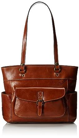 Amazon.com  Patricia Nash Bolsena Tote, Tan  Clothing 019f6379a7