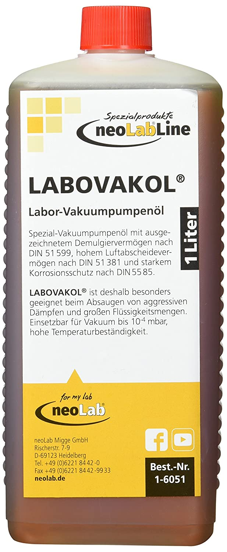 Neolab 1 6051 Labov Akol Vakuumpumpenöl 1 Litre Flask Business Industry Science