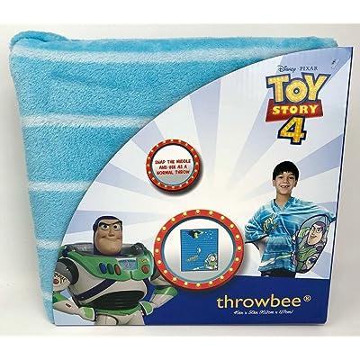 throwbee Disney Pixar Toy Story 4 Buzz Lightyear Blanket: Home & Kitchen
