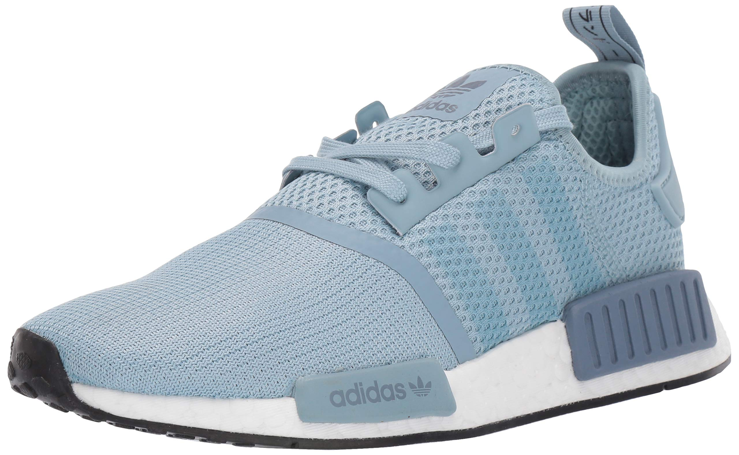 adidas Originals Women's NMD_R1 Running Shoe, ash Grey/raw Steel, 5 M US