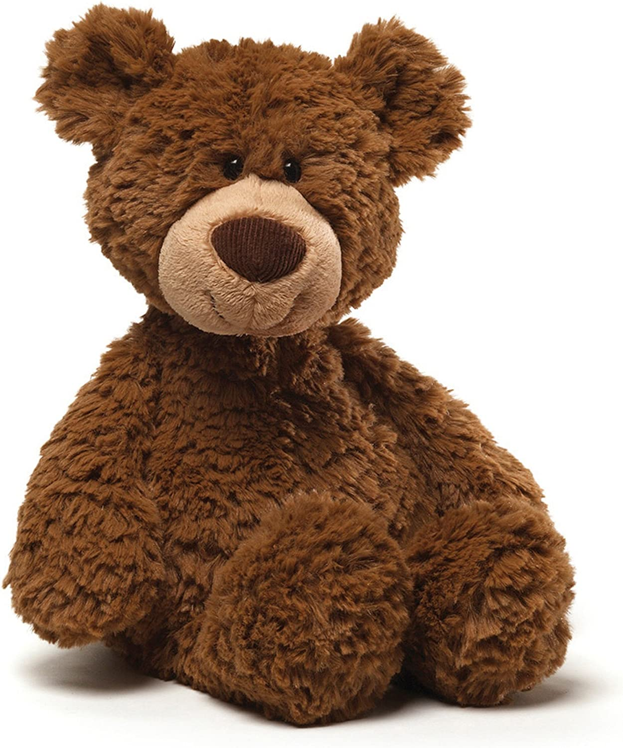 "GUND Pinchy Brown Smiling Teddy Bear Plush Stuffed Animal, 17"": Toys & Games"