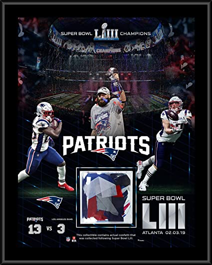 Image Unavailable. Image not available for. Color  New England Patriots  Super Bowl LIII Champions ... 88ecdd24d