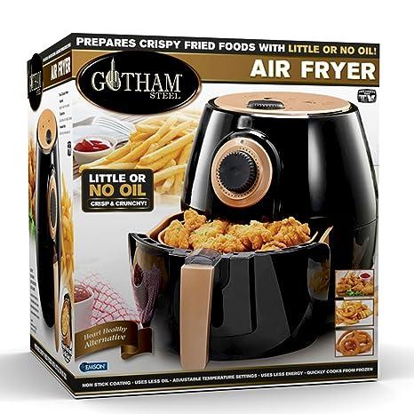 Amazon Com Gotham Steel Air Fryer Xl 3 8 Liter With Rapid Air