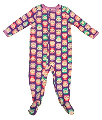 a6073ab7bb Child of Mine by Carter s Toddler Girl Owl Print One Piece Fleece Sleepwear  - 5T