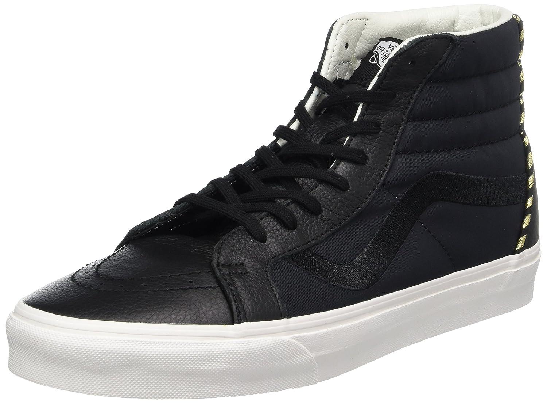 Vans Damen Sk8-Hi Reissue DX Sneaker  37 EU|Schwarz (California Souvenir/ Black/Blanc De Blanc)