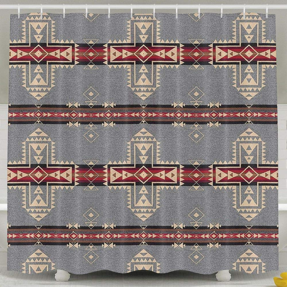 Amazon Water Repellent Shower Curtain Pendleton Crossroads Bathroom 100 Polyester Fabric 36 X 72 Home Kitchen