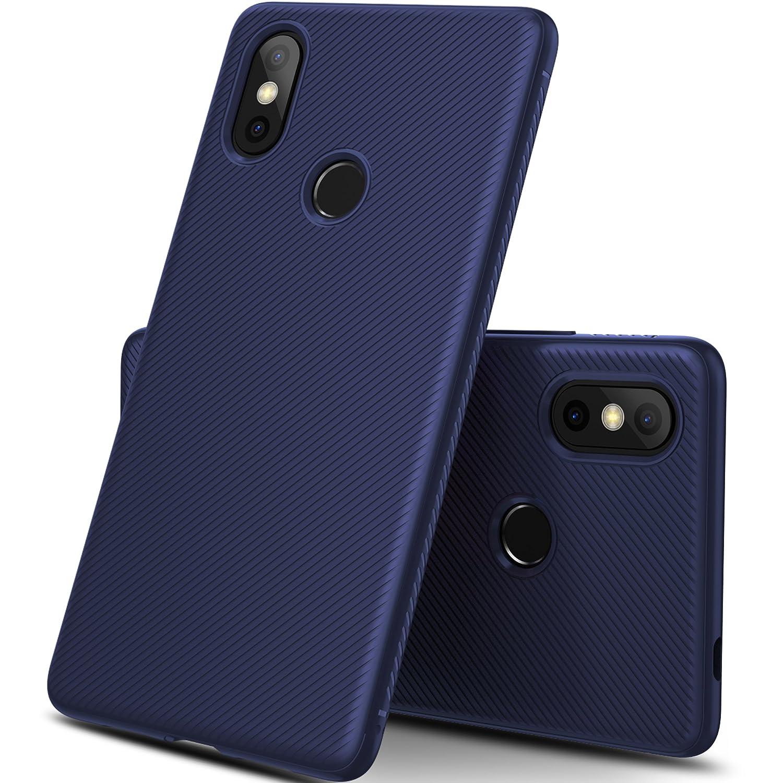 GeeMai Coque Xiaomi Mi 8 Se, Ultra Mince Silicone Cas Solide, Durable, Anti-Chute, antidé rapant Cas Souple TPU Cas Mobile Té lé phone Case pour Xiaomi Mi 8 Se Smartphone(Noir)