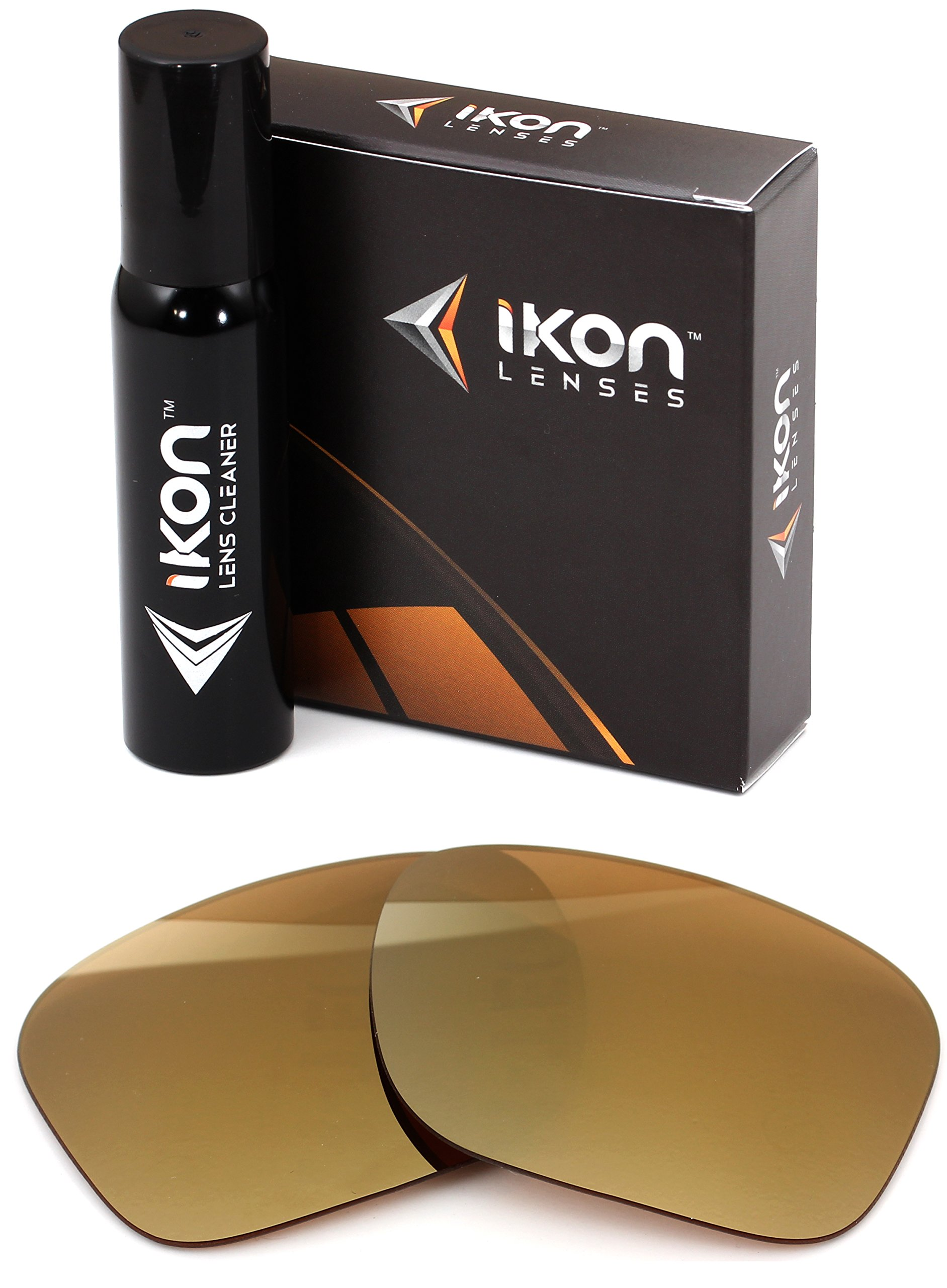 Polarized IKON Replacement Lenses for Electric Capt. Ahab Sunglasses - 24K Gold